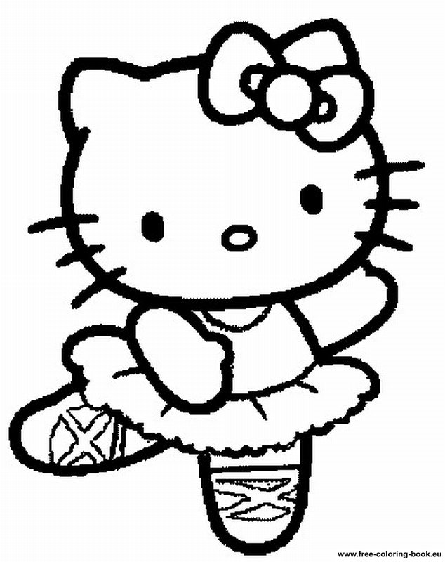 Free Printable Coloring Pages For Girls Hello Kitty ...