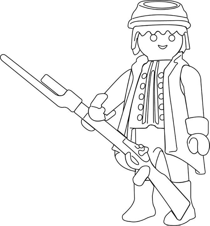 Dibujos Para Colorear Playmobil   AZ Dibujos para colorear