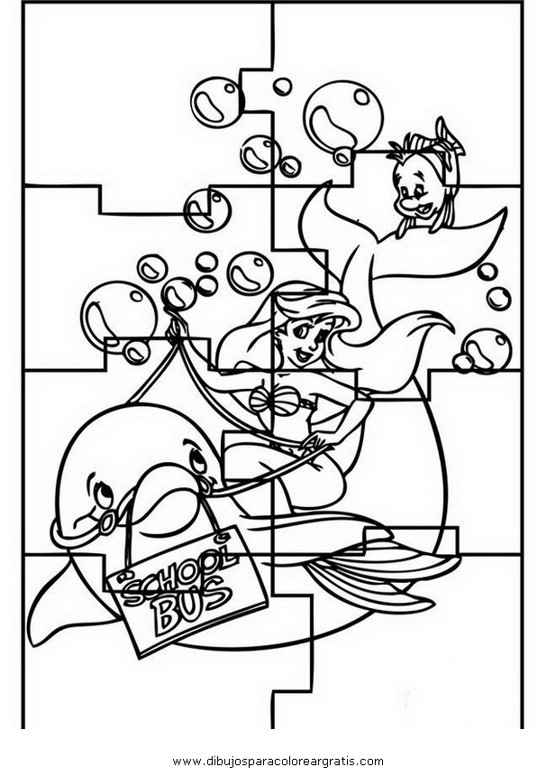 Rompecabezas Colouring Pages