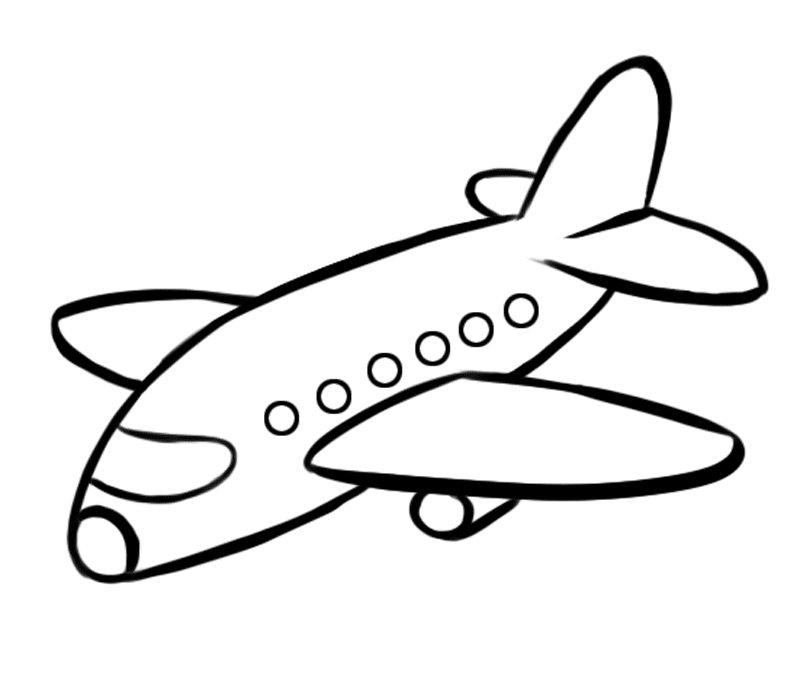 Dibujos Aviones Para Colorear  AZ Dibujos para colorear