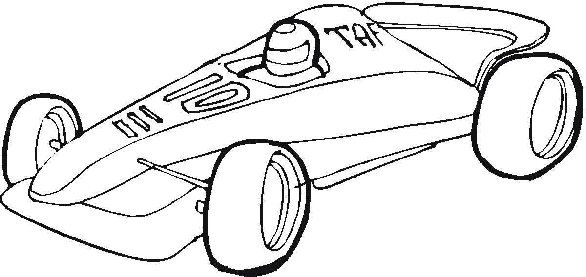 Dibujos De Formula 1 Para Colorear   AZ Dibujos para colorear