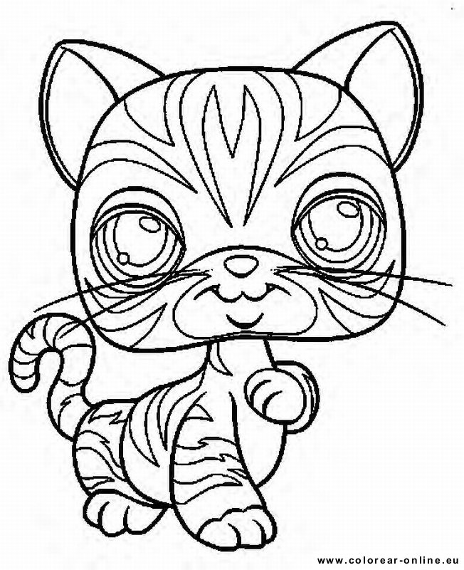 little pet shop|-1 Colouring Pages (page 3)