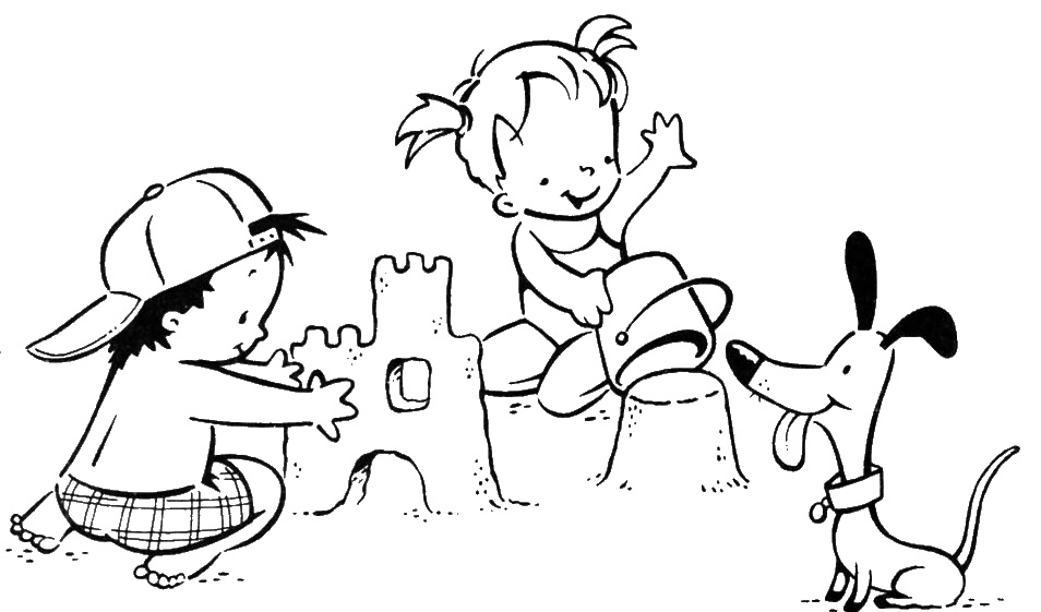 Dibujos Para Colorear Vacaciones - AZ Dibujos para colorear
