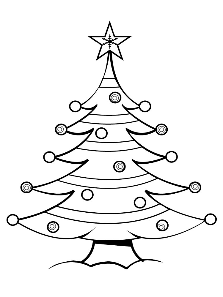 arbol de navidad u dibujos para colorear e imgenes
