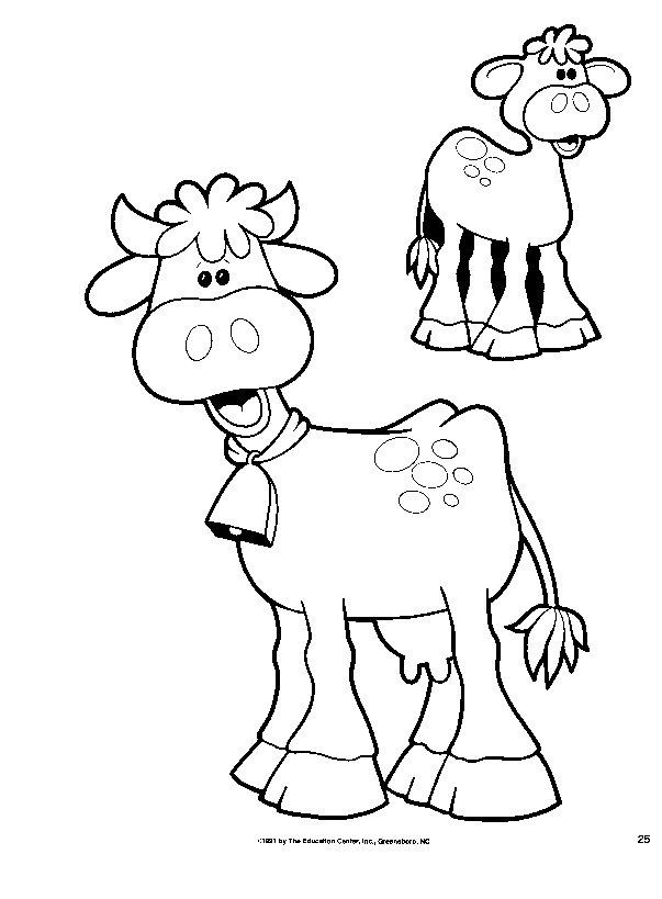 Dibujos Para Colorear Y Pintar De Animales De La Granja ...