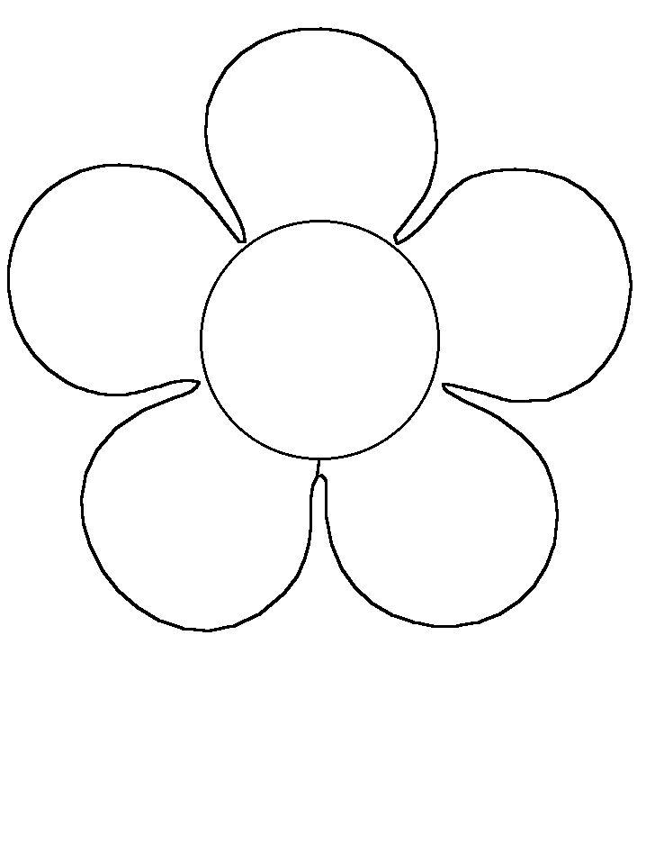 Flores Para Recortar Az Dibujos Para Colorear