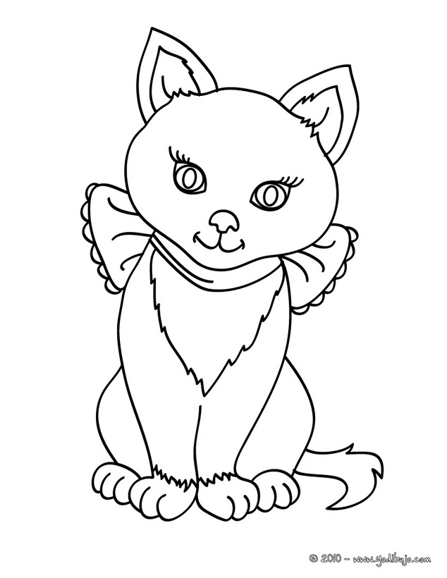 Related Pictures Dibujo Para Colorear Gato Dibujos Animados Gatos ...