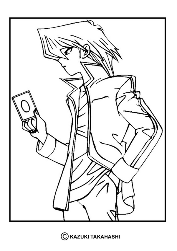 YU-GI-OH coloring pages - Yu-Gi-Oh 5