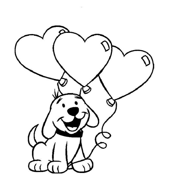 Colorear San Valentin Az Dibujos Para Colorear