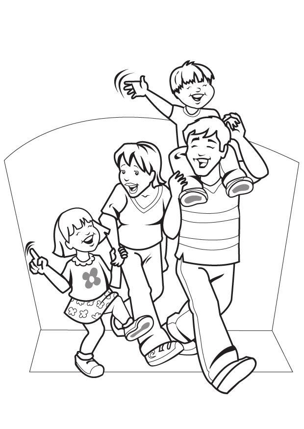 Related Pictures Pin Dibujos De Familia Para Colorear Imagenes On