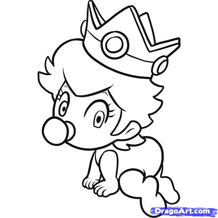 Mickey Mouse Clubhouse Coloring Pages baby mickey mouse coloring ...