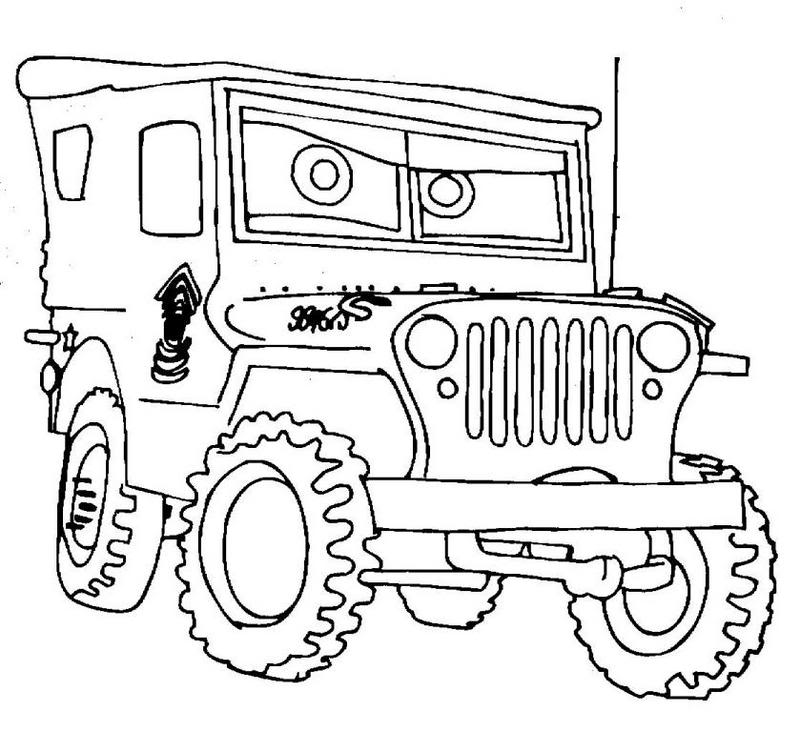 Semi Truck Coloring Pages Sketch Coloring Page