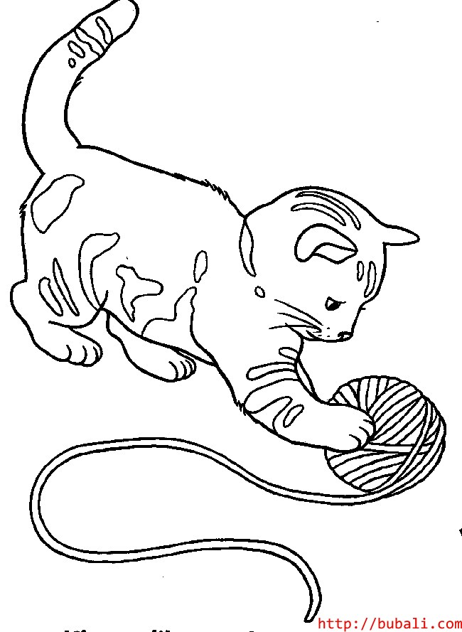 Dibujos Para Colorear De Gatos Pequeños Az Dibujos Para Colorear