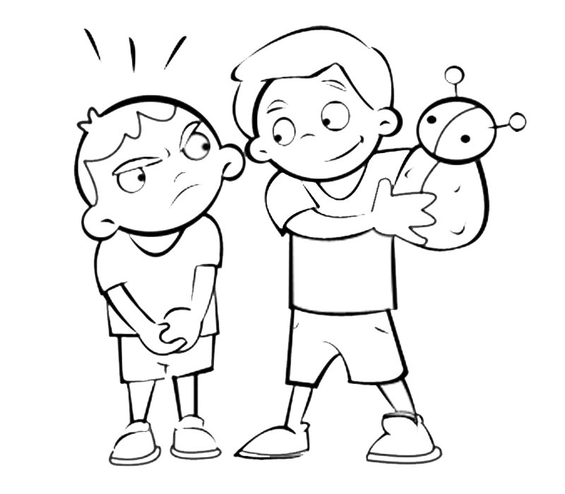 Para Colorear Niños - AZ Dibujos para colorear