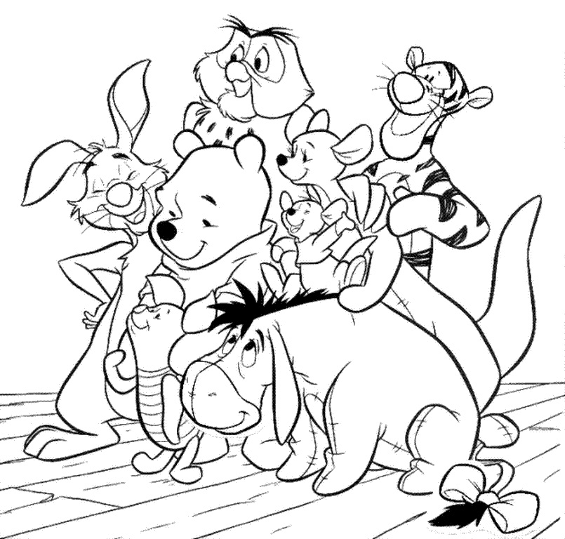 Dibujos De Amigos Para Colorear Az Dibujos Para Colorear