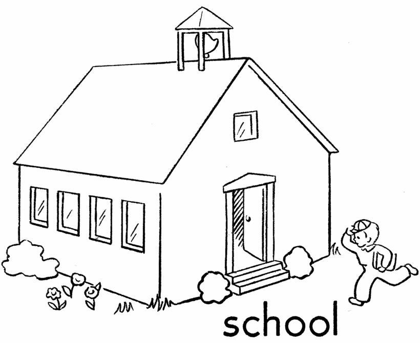 Dibujo Colegio Para Colorear   AZ Dibujos para colorear