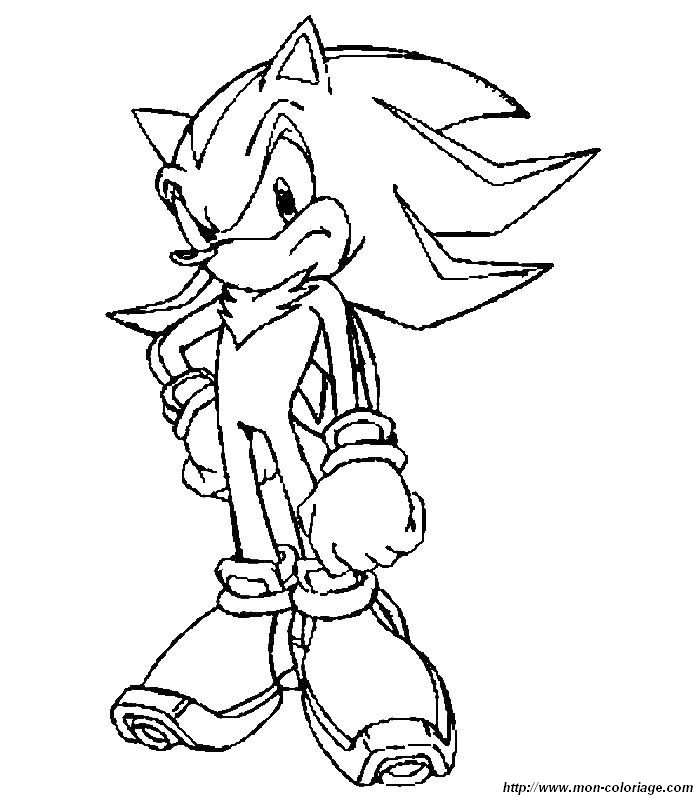 Sonic Y Sus Amigos Colouring Pages (page 2)