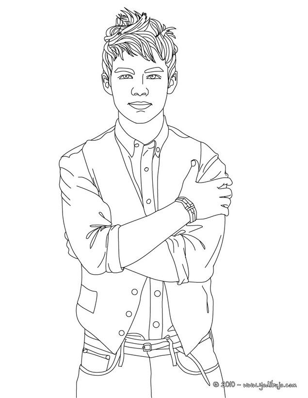 Dibujos Para Colorear De Justin Bieber Az Dibujos Para Colorear