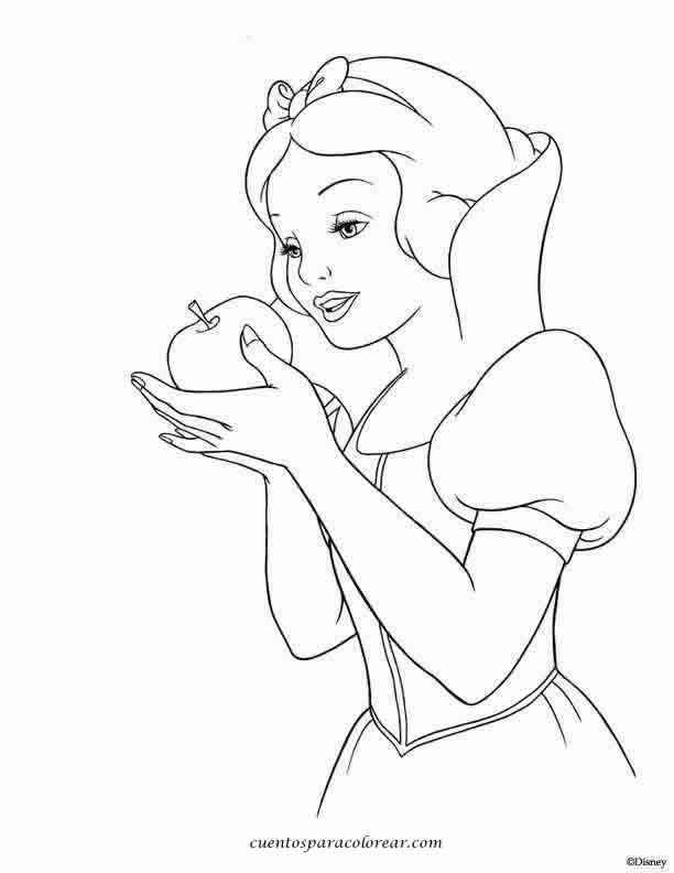 Princesas Para Colorear En El Ordenador Az Dibujos Para