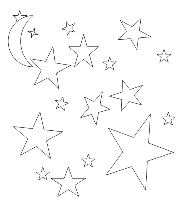 Dibujo Estrellas Para Colorear   AZ Dibujos para colorear