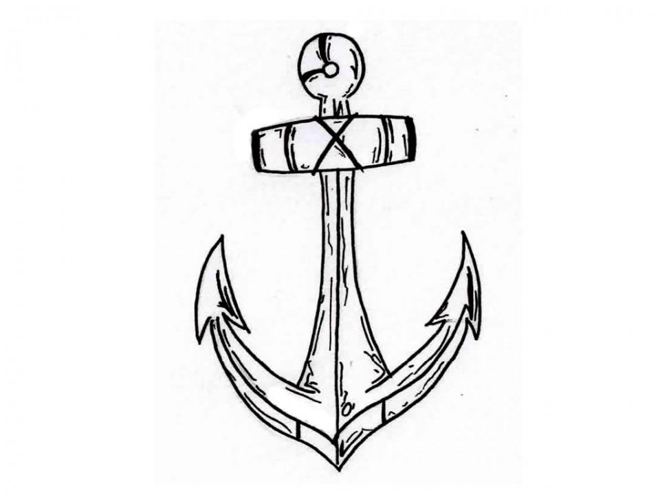 Anchor Tattoo On Tumblr Az Dibujos Para Colorear