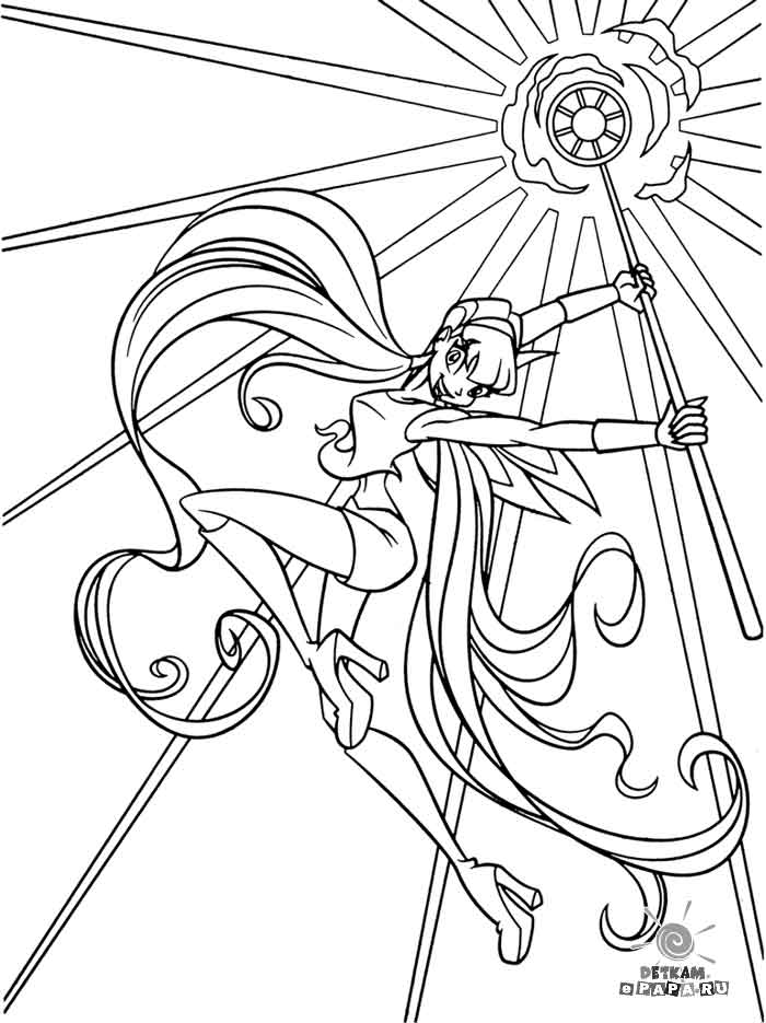 hadasanime Colouring Pages (page 2)