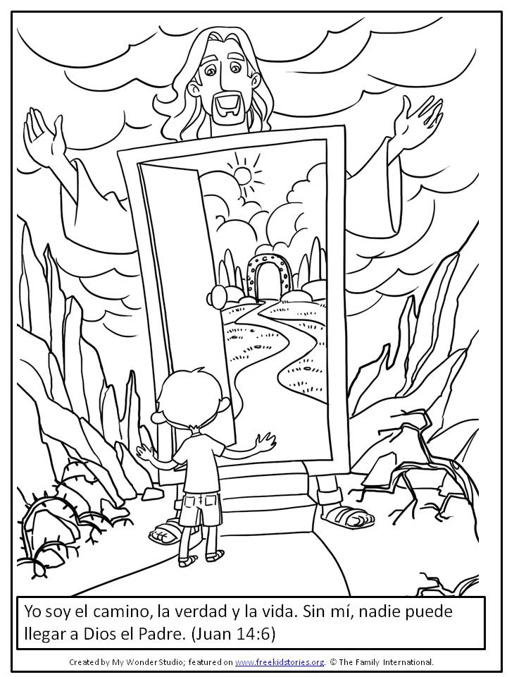 Biblia Para Niños Para Colorear Az Dibujos Para Colorear