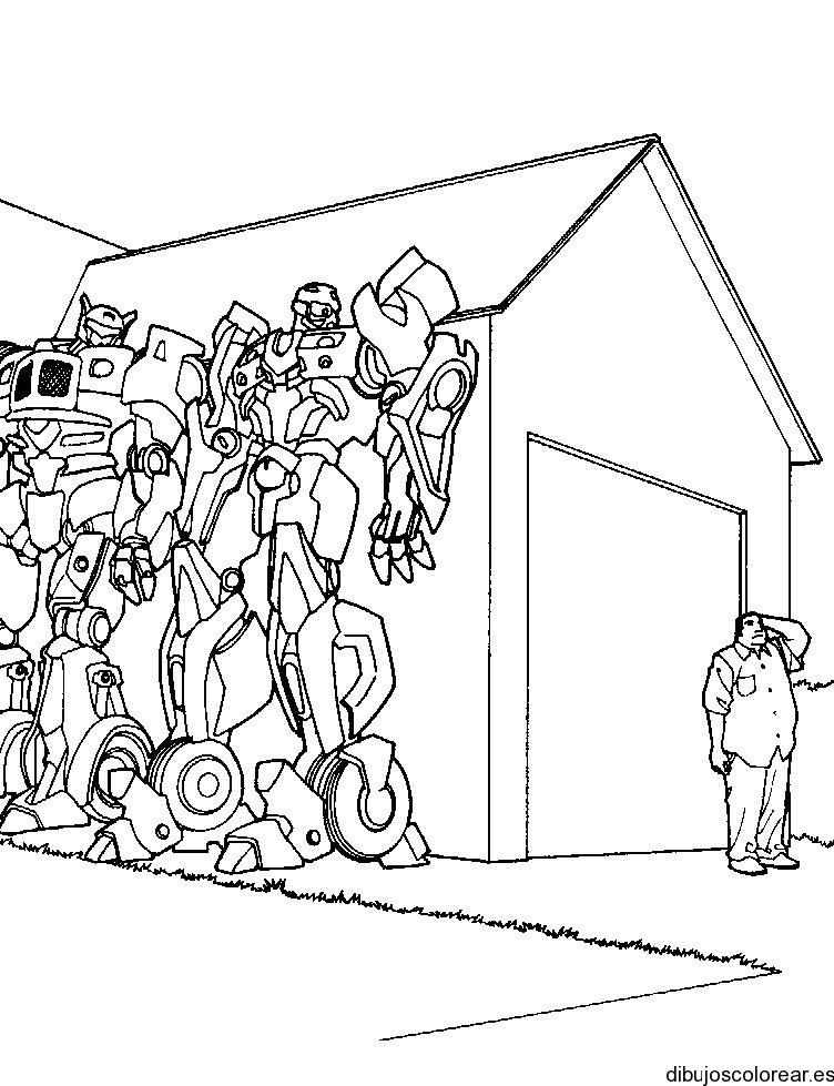 Dibujos Transformers Para Colorear Az Dibujos Para Colorear