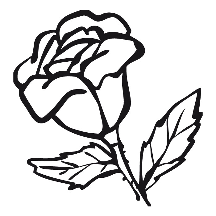 Colorear Rosa - AZ Dibujos para colorear