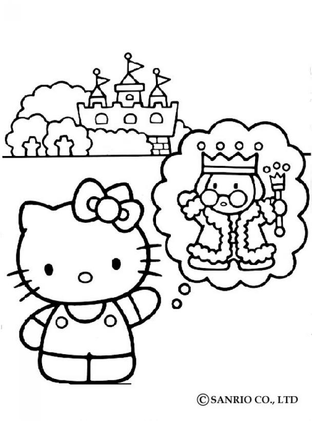 Hello kitty26 - Dibujo de Hello Kitty para imprimir