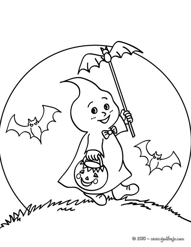 Dibujos De Fantasmas Para Colorear - AZ Dibujos para colorear