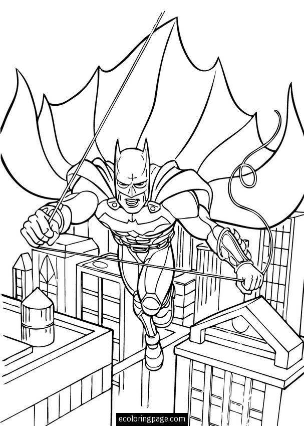 Lujoso Asilo Batman Arkham Para Colorear Adorno - Dibujos Para ...