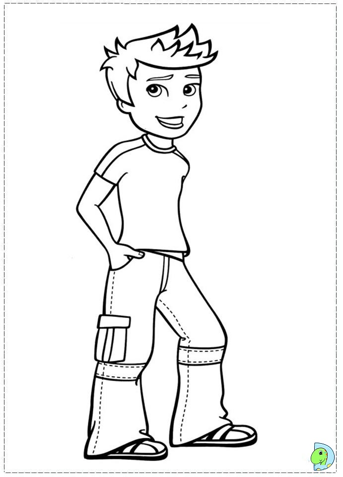 polly pocket Colouring Pages (page 3)