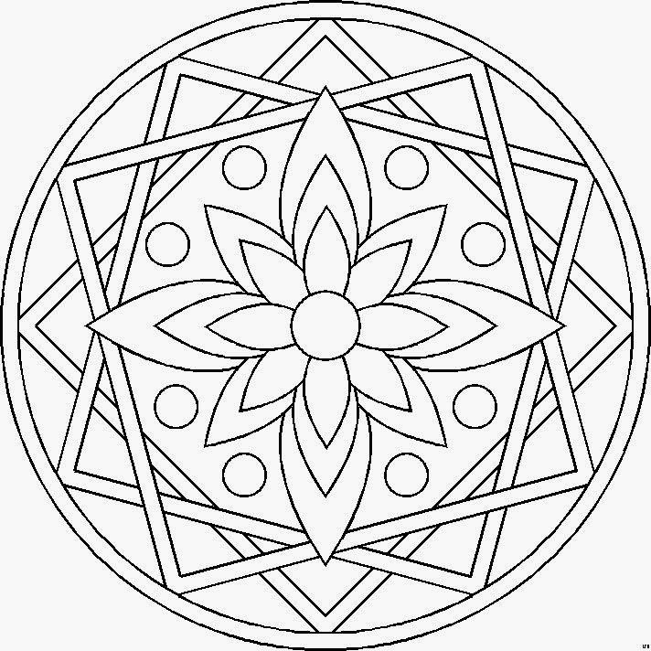 Dibujos Etnicos Para Imprimir - AZ Dibujos para colorear