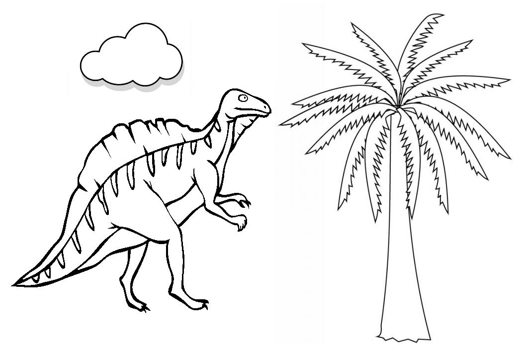 Colorear Dinosaurios - AZ Dibujos para colorear