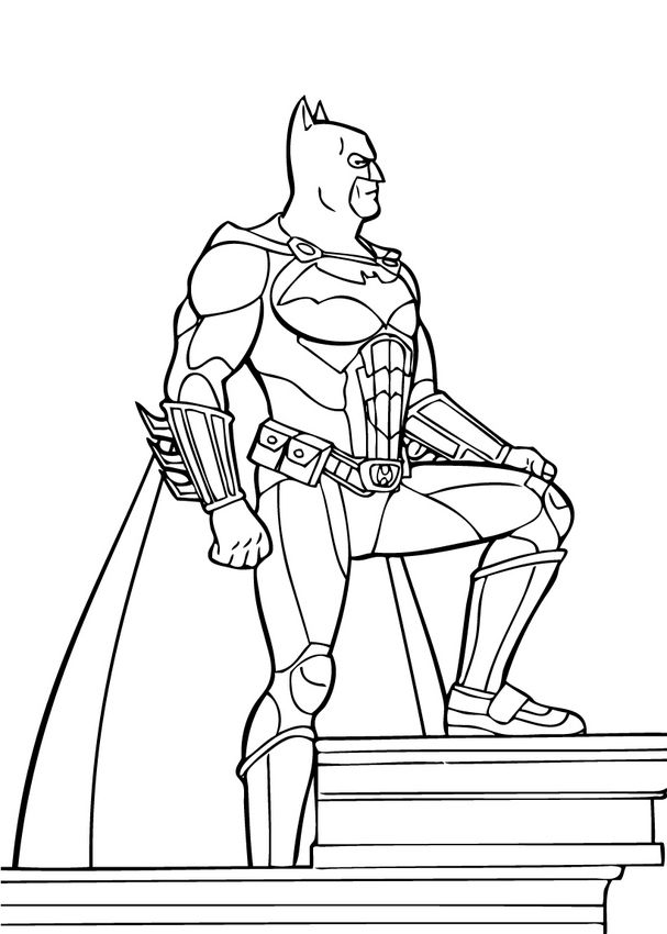 Batman : Coloring pages, Kids Crafts and Activities, Daily Kids ...