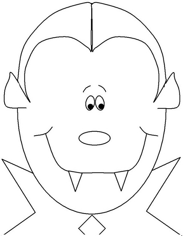 vampiro infantil Colouring Pages (page 2)