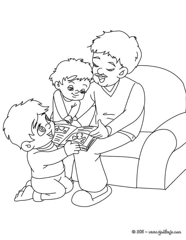 Papa Colorear - AZ Dibujos para colorear