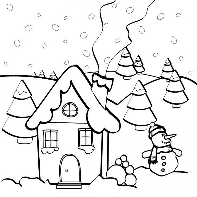 UN PUEBLO Colouring Pages