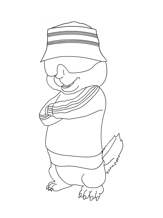 Alvin and the Chipmunks Coloring Pages | Coloring Pages To Print