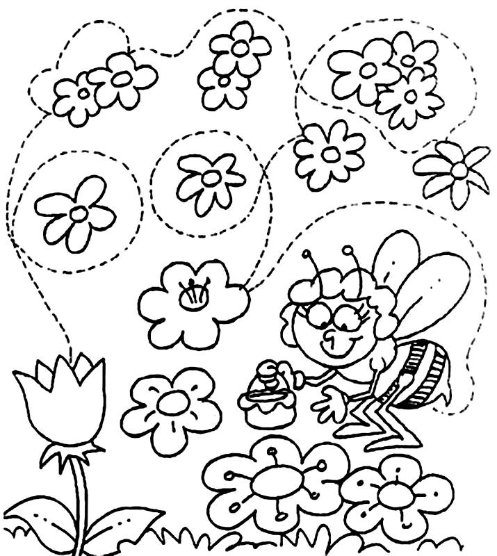 imagenes de primavera Colouring Pages (page 2)