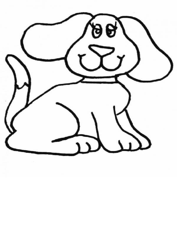 Dog Coloring Pages To Color Online | Coloring Pages Trend