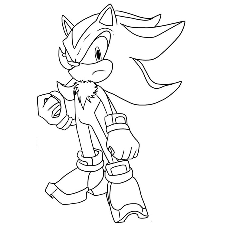 dessin shadow Coloriage