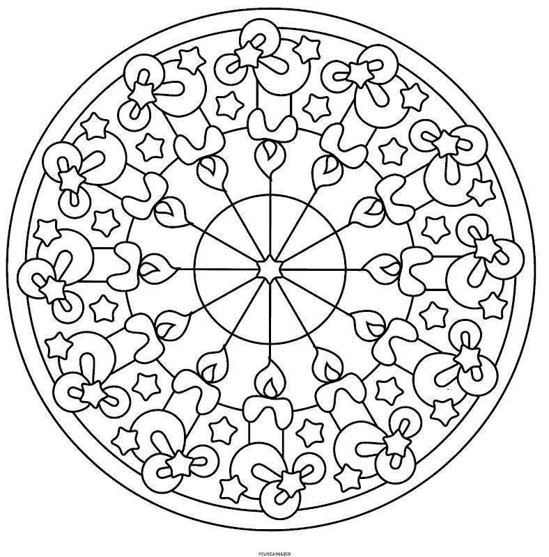 como pintar un mandala Colouring Pages (page 3)