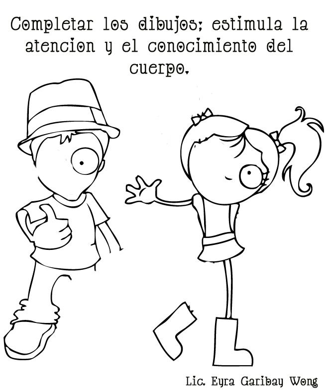 Dibujos Para Colorear Del Cuerpo Humano Para Niños - AZ Dibujos para ...