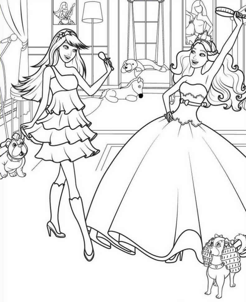 Dibujos De Bailarinas Para Imprimir - AZ Dibujos para colorear