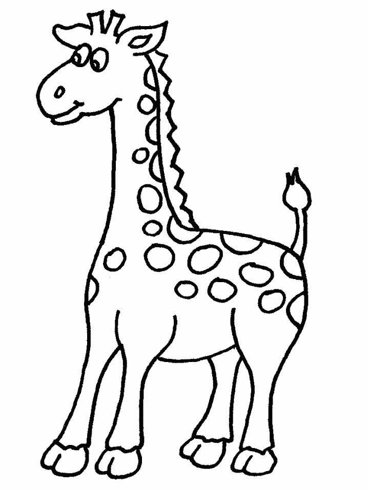 Dibujos Para Colorear y Recortar de Animales Dibujos Para Colorear de