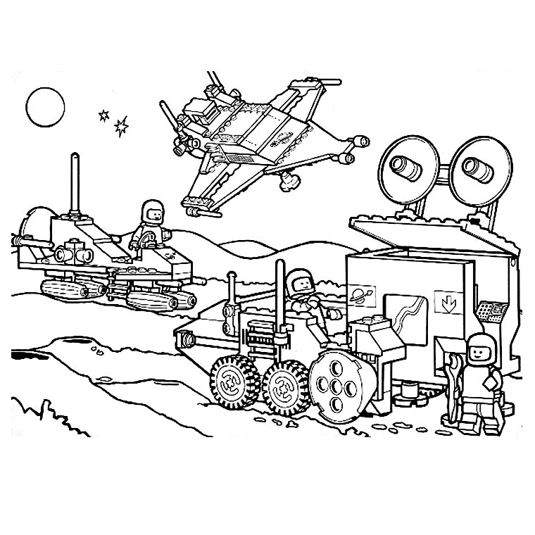 lego PGE para colorear Colouring Pages (page 2)