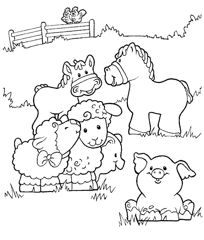 Fichas Infantil Animales   AZ Dibujos para colorear