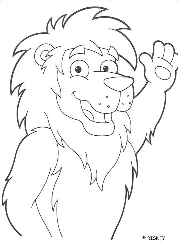 Dibujos Animados de Leones Tiernos Leon Tierno Animado Para